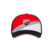 1946003_DUCATI_RACING_ADULTS_BADGE_LOG_CAP_TRICOLOUR