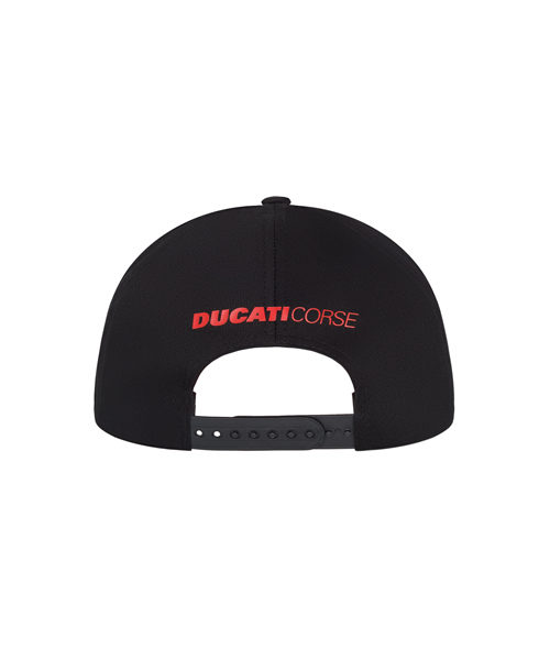 1946003_DUCATI_RACING_ADULTS_BADGE_LOG_CAP_TRICOLOUR_BV