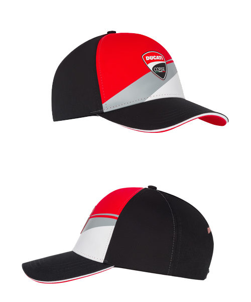 1946003_DUCATI_RACING_ADULTS_BADGE_LOG_CAP_TRICOLOUR_SV