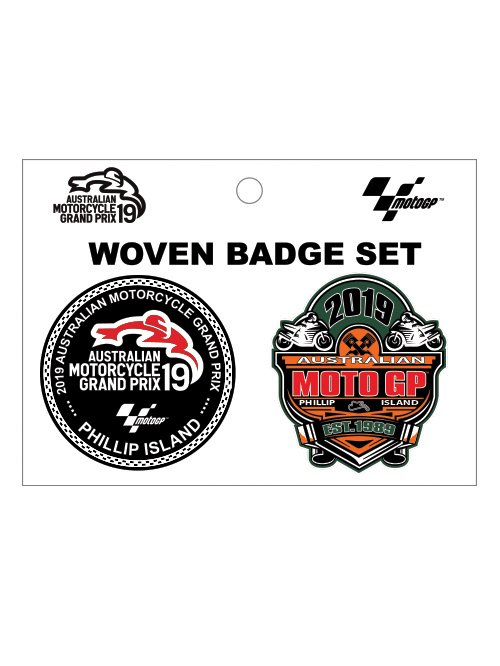 AMGP19A-049_WOVEN BADGE SET