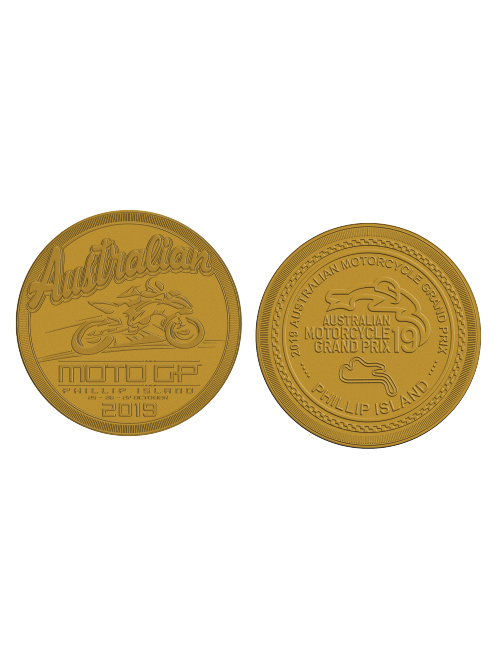 AMGP19A-066_MOTOGP EVENT COLLECTOR COIN