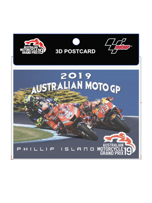 AMGP19A-073_MOTOGP EVENT 3D POST CARD